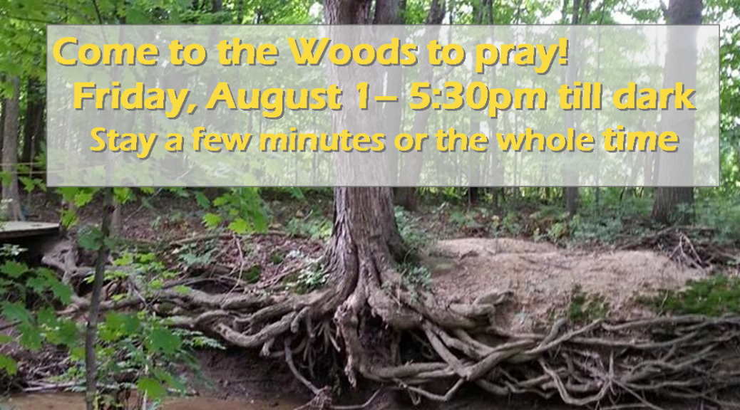 Prayer walk Deep Woods