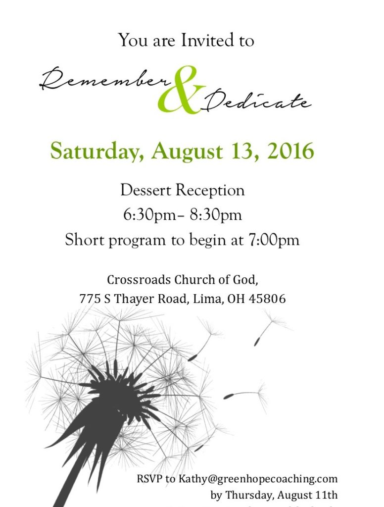 Remember & Dedicate invite1